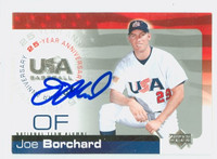 Joe Borchard AUTOGRAPH 2004 Upper Deck Team USA 