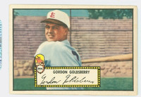 1952 Topps Baseball 46 Gordon Goldsberry St. Louis Browns Very Good Black Back