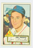 1952 Topps Baseball 220 Joe Presko St. Louis Cardinals Near-Mint