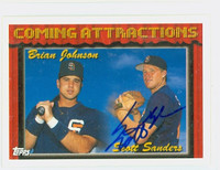 Scott Sanders AUTOGRAPH 1994 Topps Coming Attractions Padres 