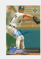 Sid Roberson AUTOGRAPH 1996 Topps Brewers 
