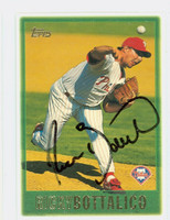 Ricky Bottalico AUTOGRAPH 1997 Topps Phillies 