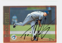 Tim Crabtree AUTOGRAPH 1997 Topps Blue Jays 