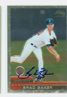 Brad Baker AUTOGRAPH 2000 Topps Chrome Traded Red Sox 