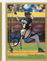 Mike Cameron AUTOGRAPH 1999 Topps White Sox 