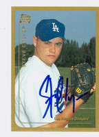Steve Colyer AUTOGRAPH 1999 Topps Traded Dodgers 