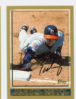 Damion Easley AUTOGRAPH 1998 Topps Tigers 