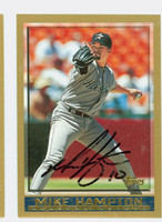 Mike Hampton AUTOGRAPH 1998 Topps Astros 