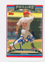 Jason Michaels AUTOGRAPH 2006 Topps Phillies 