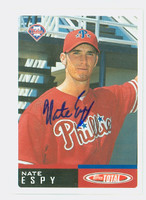 Nate Espy AUTOGRAPH 2002 Topps Total Phillies 