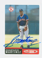 Anastacio Martinez AUTOGRAPH 2002 Topps Total Red Sox 
