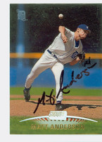 Matt Anderson AUTOGRAPH 1999 Topps Stadium Club Tigers 