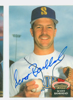 Scott Bankhead AUTOGRAPH 1992 Topps Stadium Club Mariners 