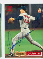 Danny Darwin AUTOGRAPH 1994 Topps Stadium Club Red Sox 