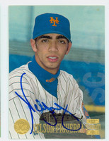 Nelson Figueroa AUTOGRAPH 1997 Topps Stadium Club Mets 
