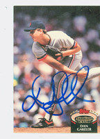 Dan Gakeler AUTOGRAPH 1992 Topps Stadium Club Tigers 
