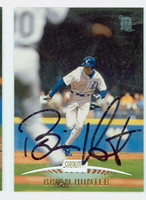 Brian Hunter AUTOGRAPH 1999 Topps Stadium Club Tigers 
