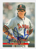 Rene Gonzales AUTOGRAPH 1993 Topps Stadium Club Angels 