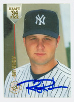 Ray Ricken AUTOGRAPH 1994 Topps Stadium Club Draft Pick Yankees 