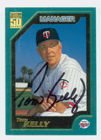 Tom Kelly AUTOGRAPH 2001 Topps Twins 