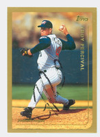 Troy Percival AUTOGRAPH 1999 Topps Angels 
