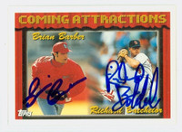 Rich Batchelor DUAL SIGNED 1994 Topps Cardinals 