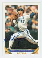 Mike Magnante AUTOGRAPH 1993 Topps Royals 