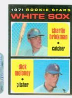 1971 Topps Baseball 13 White Sox Rookies Near-Mint