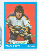 1973-74 Topps Hockey Tracy Pratt Buffalo Sabres Near-Mint to Mint