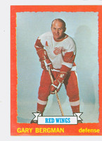 1973-74 Topps Hockey Gary Bergman Detroit Red Wings Near-Mint to Mint