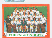 1973-74 Topps Hockey Sabres Team Near-Mint to Mint