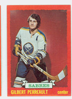 1973-74 Topps Hockey Gilbert Perreault Buffalo Sabres Near-Mint