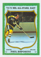 1973-74 Topps Hockey Phil Esposito Boston Bruins Near-Mint