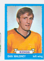 1973-74 Topps Hockey Dan Maloney Los Angeles Kings Excellent to Mint