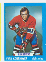 1973-74 Topps Hockey Yvan Cournoyer Montreal Canadiens Excellent to Mint
