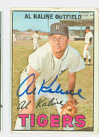 Al Kaline AUTOGRAPH 1967 Topps #30 Tigers CARD IS POOR