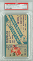 1948 Washington Redskins Ticket Stub vs Chicago Bears Pre-Season Game -   September 19, 1948 PSA/DNA Authentic Slabbed