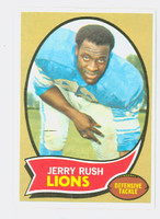 1970 Topps Football 32 Jerry Rush Detroit Lions Near-Mint