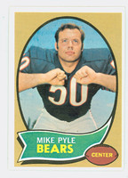 1970 Topps Football 37 Mike Pyle Chicago Bears Near-Mint