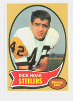 1970 Topps Football 28 Dick Hoak Pittsburgh Steelers Near-Mint Plus