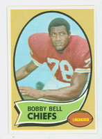 1970 Topps Football 154 Bobby Bell Kansas City Chiefs Near-Mint Plus