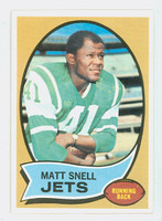1970 Topps Football 35 Matt Snell New York Jets Near-Mint to Mint