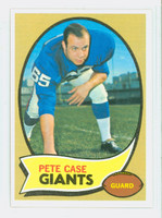 1970 Topps Football 41 Pete Case New York Giants Near-Mint to Mint