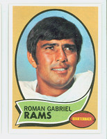 1970 Topps Football 100 Roman Gabriel Los Angeles Rams Near-Mint to Mint