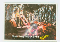 1976 Star Trek 43 Battling Horta Excellent to Mint
