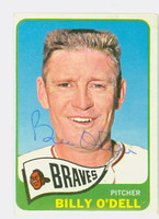 Billy O' Dell AUTOGRAPH d.18 1965 Topps #476 Braves   [SKU:ODelB1849_T65BBq]