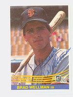 Brad Wellman AUTOGRAPH 1984 Donruss #265 Giants 