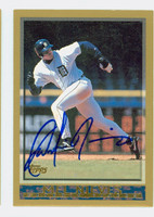 Melvin Nieves AUTOGRAPH 1998 Topps Tigers 
