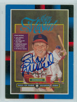 Stan Musial AUTOGRAPH d.13 1988 Donruss Diamond King Cardinals 