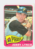 Jerry Lynch AUTOGRAPH d.12 1965 Topps #291 Pirates Card is clean Ex/Mt